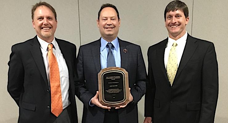 Harper president Lee Kluttz earns Commitment to Progress Award