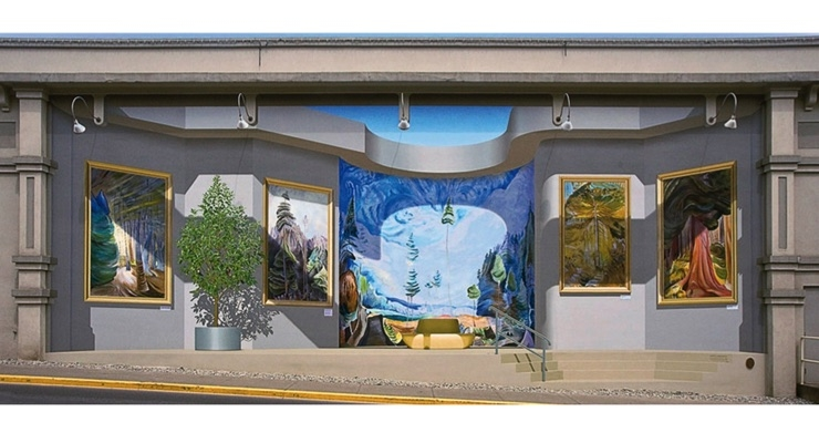 Artist Uses Evolon for Painting Large-Format Works