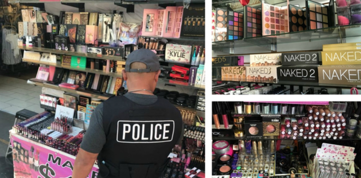 LAPD Seizes Contaminated, Counterfeit Cosmetics