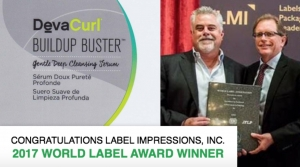 Label Impressions wins World Label Award