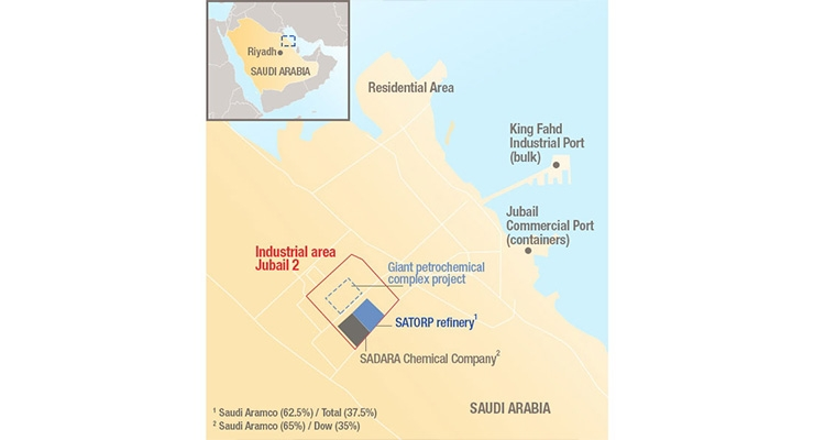 Saudi Aramco, Total Sign Memorandum of Understanding to Build a Giant Petrochemical Complex