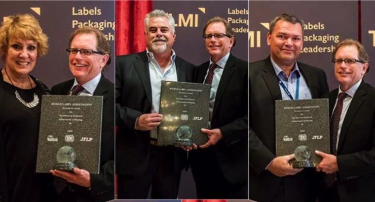 Five TLMI converter members win World Label Awards