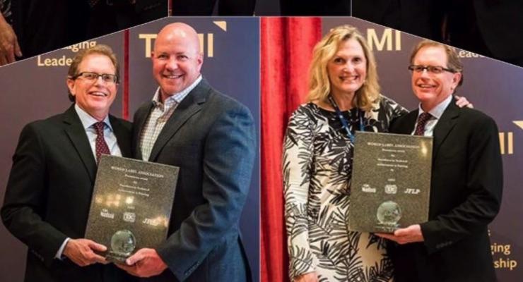 Five TLMI converter members win World Label Awards