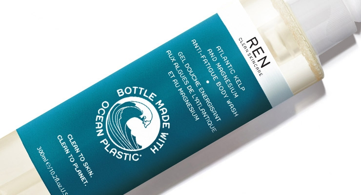 REN Skincare's Recyclable Bottle Contains Reclaimed Ocean Plastic