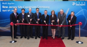 WuXi AppTec Opens Laboratory Testing Facility in NJ