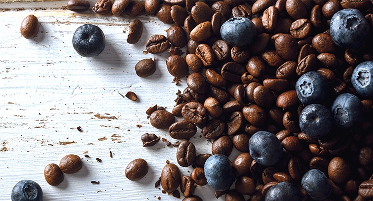 Compounds in Grapes, Dark Chocolate, Coffee, & Blueberries May Treat Depression