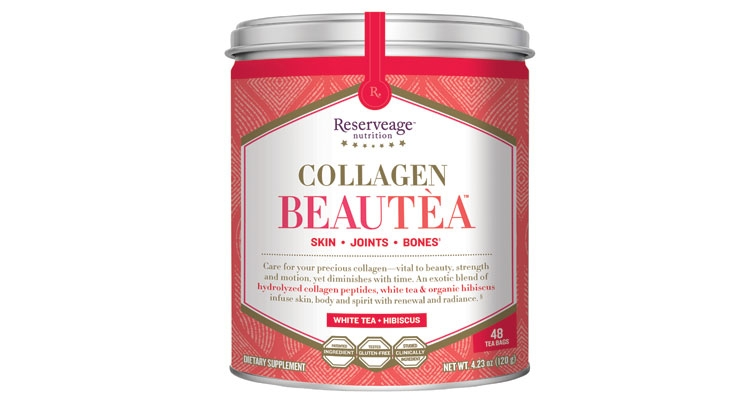 This collagen-infused tea improves  skin, joints and bones.