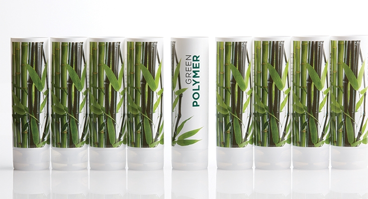 JSN produced its Green Polymer line to demonstrate a series  of approaches to environmentally responsible packaging.