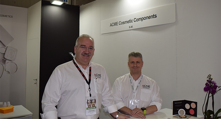 Acme Cosmetic Components: Mike Roughton (L); David Wood