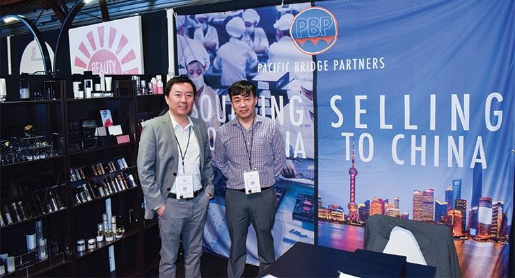 Pacific Bridge Partners; Peter Chang (L), William Hsu