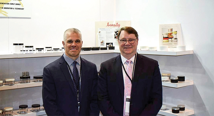 Colt's Plastics: Chris Lepine, senior designer (L) and Mark Egan, vice president of sales