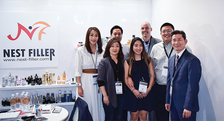 Nest-Filler: (L-R, back row) Yoolie Park, vice president, sales & marketing; John Park, sales director; Harlan Hays, account executive; and Alex Park, account manager. (L-R, front row) Eun Hong and Donna Kim, account executives; Kevin Park, CEO.