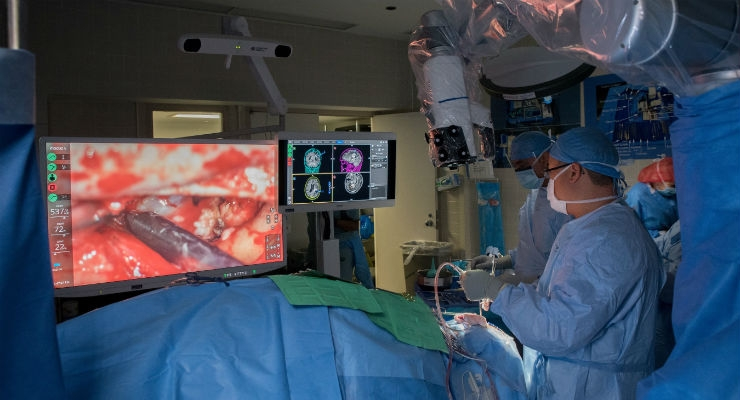 Space Station Robotic Arm Tech Revolutionizes Neurosurgery At Henry