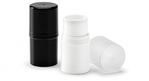 Round Twist-Up Makeup Stick Containers from Qosmedix