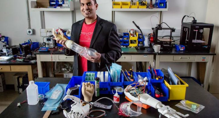 Prosthetic Arms Can Provide Controlled Sensory Feedback