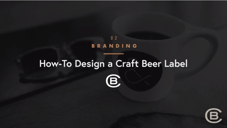 Branding: How to design a craft beer label in Adobe