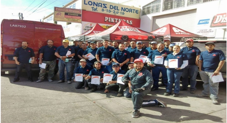 Axalta Presents Fourth Edition of Mobile Refinish Training Program in Mexico