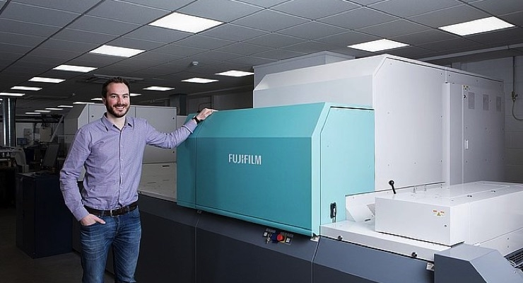 Jet Press 720S Boosts Business Card Production at Bluetree Group
