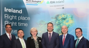 WuXi Biologics to Build Largest Bio-Mfg. Facility in Ireland