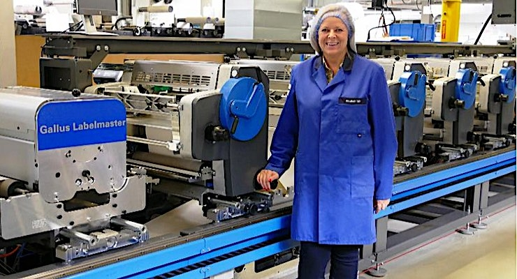 Gallus Labelmaster helps Swiss label converter