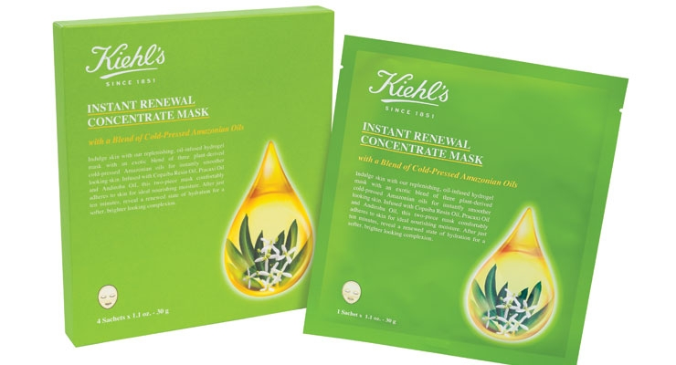 Kiehl's Rolls Out New Sheet Mask