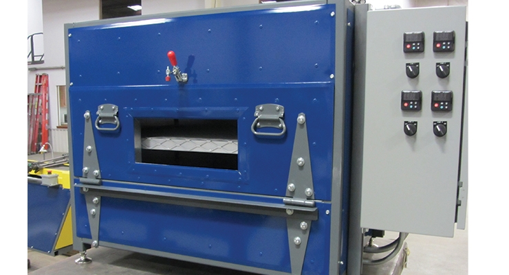 Industrial infrared lab ovens