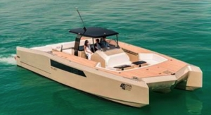 AkzoNobel Adds Exclusive Sparkle to Diamond Coated Sunreef Yachts Catamaran