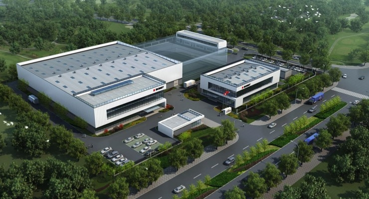 3D view of the new Changzhou Competence Center. (Source: BOBST)