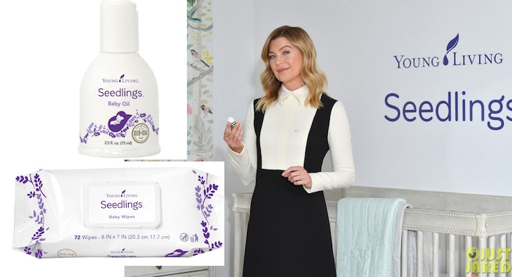 Ellen Pompeo Promotes Young Living