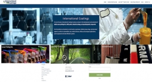 International Coatings Redesigns Website