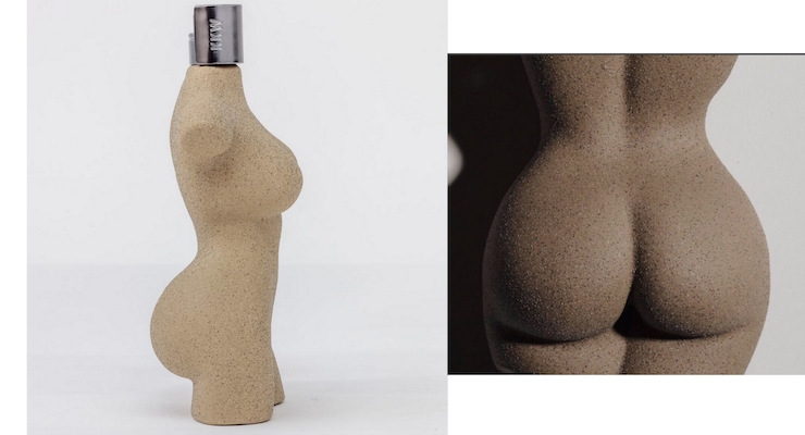 Kim K's Body-Shaped Bottle is Beautiful