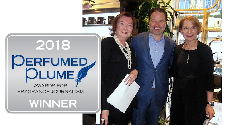 Perfumed Plume Presents Awards for Fragrance Journalism