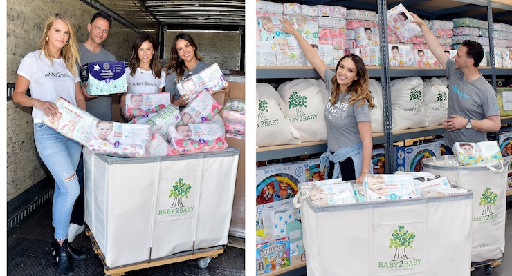 The Honest Company Donates 1.5 Million Diapers to Baby2Baby