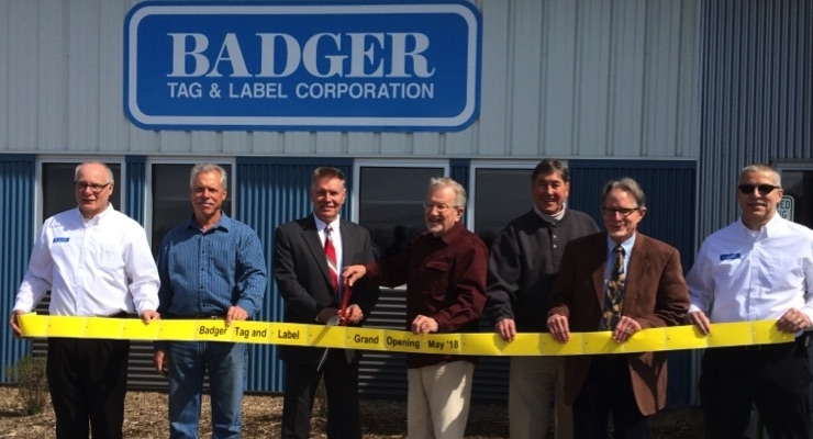 Badger Tag & Label hosts grand opening for new facility