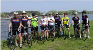 Belgian Axalta Employees Bike 1,000 km for Cancer Charity Awareness