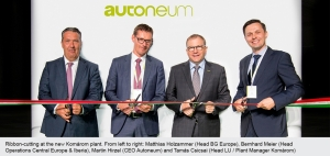 Autoneum Opens Automotives Component Plant in Hungary