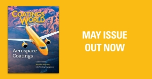 Coatings World Video: Aerospace Coatings, Biocides Directory, More in May Issue, Out Now