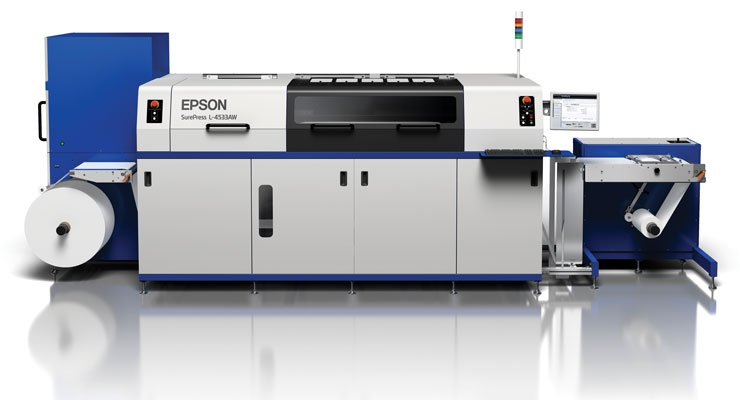 The Epson SurePress portfolio features printheads manufactured by Epson.