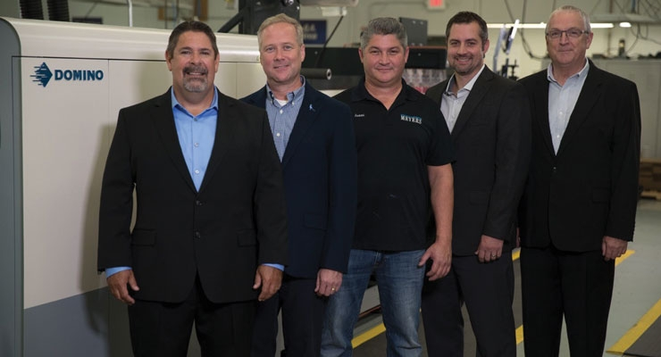 Minneapolis-based Meyers recently installed the inkjet/flexo hybrid MPS EF SymJet, powered by Domino.