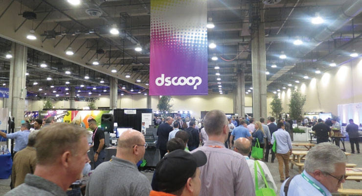 Visitors flocked to the Solutions Showcase to see the latest digital printing technologies.