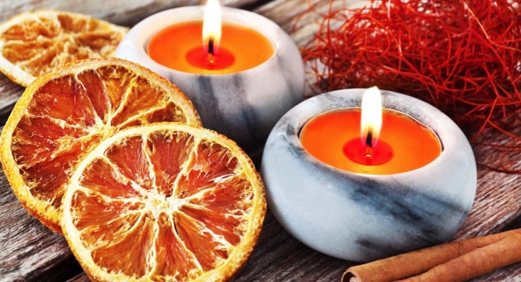 Spicy citrus blends are big in fragrance right now.