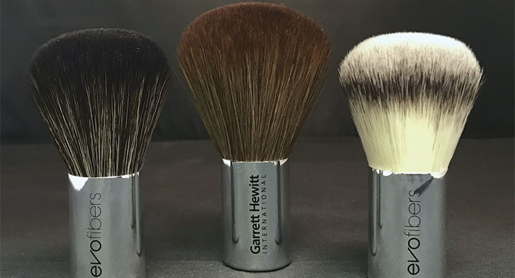 EVOfiber brushes from Garrett Hewitt International