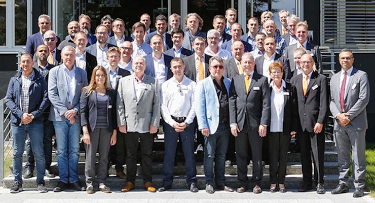 Epple Druckfarben AG: Successful Sales Partner Meeting 2018