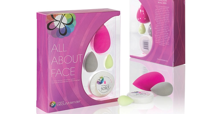 All About Face Beautyblender is a new makeup tool kit from Rea-Deeming Beauty Inc.