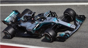 Axalta Coating Systems an Official Team Supplier to Mercedes-AMG Petronas Motorsport