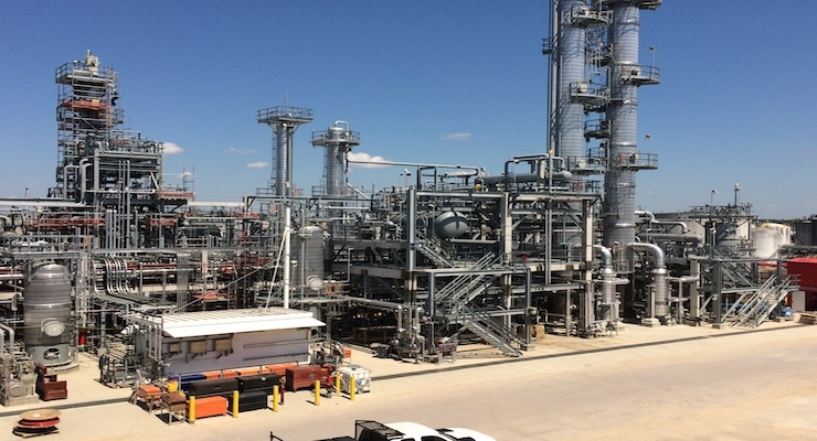 Oxea: New Propanol Unit in Bay City Mechanically Complete