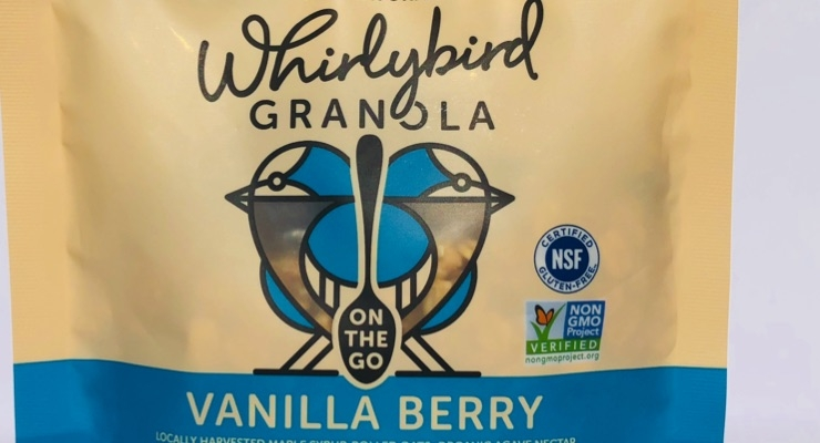 Whirlybird Granola rolls out on-the-go packaging innovation