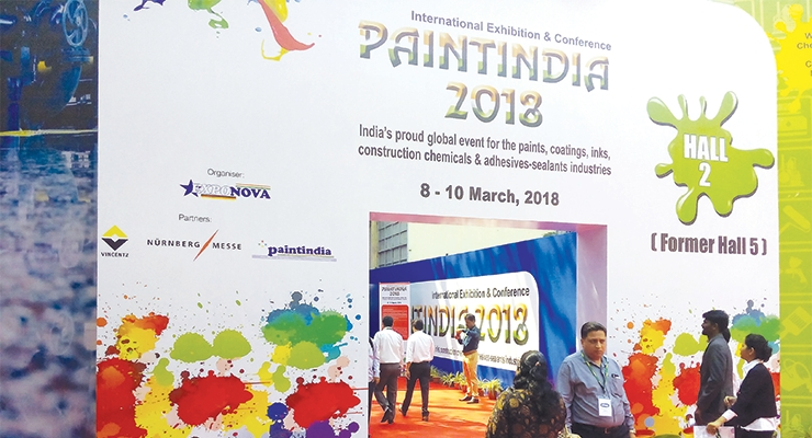 Paint India had more than 5,200 visitors.