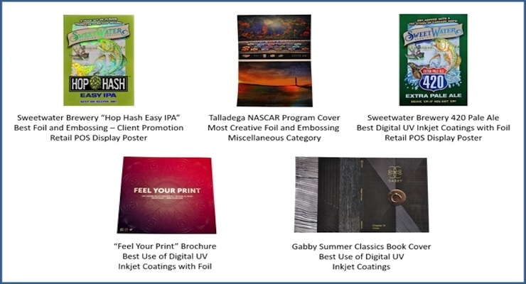 Three MGI JETvarnish 3D Customers Win Eleven FSEA Gold Leaf Awards