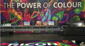 Ricoh Celebrates 'Key Sales, Outstanding Visitor Engagement' at FESPA